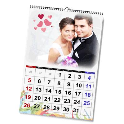Kalendarz w formacie A4